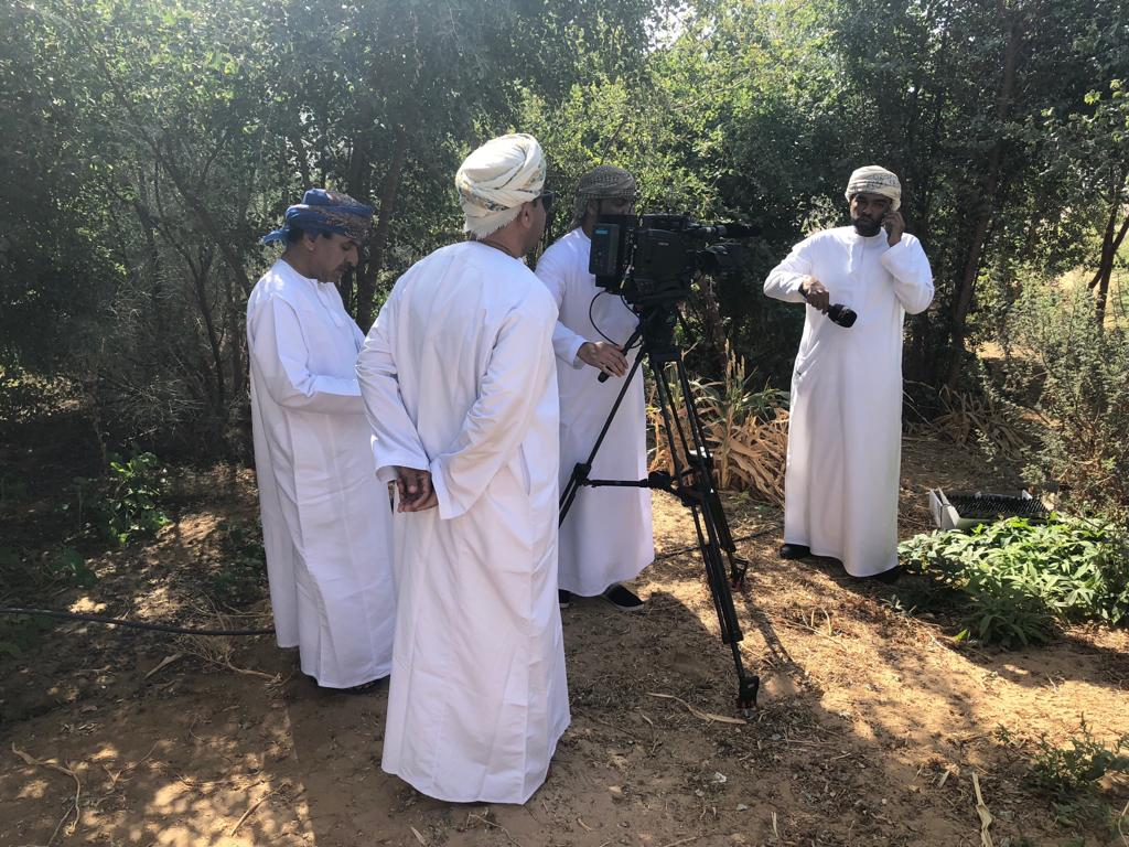 B44 Tree planting report on Oman National TV
